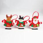 Original Рождественский подарок чулок Упаковка подарок Коробка Смазливая Санта украшения конфеты Коробка чулок Рождественский подарок Сумки