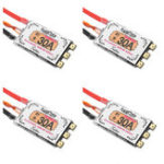 Original 4 PCS Racerstar Tattoo 30A BLheli_32 2-4S Бесколлекторный ESC Dshot1200 для гонок Дрон