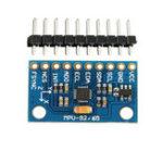 Оригинал 5Pcs MPU-9250 GY-9250 9 Axis Датчик Модуль I2C Плата связи SPI для Arduino