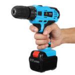 Оригинал 20VЛитий-ионнаяэлектрическаяручкаДрельCordless Hammer Дрель Chunk 1 / 2mm 10mm