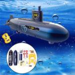 Оригинал RC Mini Submarine 6 каналов Дистанционное Управление Под водой Модель корабля Kids Toy