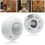 Оригинал 360 ° Автоматическое инфракрасное движение PIR Датчик Переключатель для LED Потолочный светильник AC220-240V