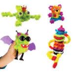 Оригинал 150PCSAssembly3DPuzzleDIYPuff Ball Squeezed Handmade Toys для детей Дети Рождественский подарок