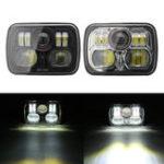 Оригинал 5.7inch x 7inch LED Проектор Headlight Hi / Lo Beam Fog Лампа Для Jeep / Wrangler YJ JK
