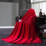 Оригинал KCASA KC-FB1 Flannel Одеяло Теплый плюшевый одеяло Super Soft Одеяло на кровати Home Plane Travel Coperta выбрасывает диван