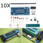 Оригинал 10Pcs DIY Минимальная системная плата ATMEGA8 ATmega48 Минимальная системная плата ATMEGA88 AVR Набор