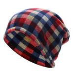 Оригинал Мужская женская сетка Хлопок Утолщение Бархат Шапочка Beanies Knitted Soft Bonnet Шапка И шарф с двойным использованием