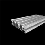 Оригинал 350 мм / 500 мм Длина 2080 Т-образный алюминиевый профиль Экструзионная рама для ЧПУ