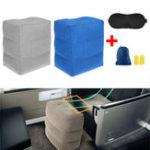 Original 40x45x30CMАвтоСамолетнадувнойподушкибезопасности для ног Parallel Seat Sleep Pillow Cushion