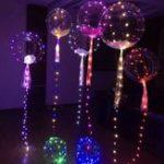 Оригинал Батарея Powered 3M 18Inch Colorful Transparent Воздушный шар Медь Провод Свет для рождественских патио