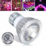 Оригинал LED 5730SMD Grow Light Full Spectrum E27 6LED 10LED Красный + синий рост Лампа Лампа для цветов Растение