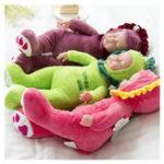 Оригинал 35cm Lifelike Reborn Baby Dolls Soft Новорожденный мальчик-мальчик Силиконовый Реалистичный винил