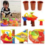 Оригинал 22Pcs / set Kids Пляжный Игрушечный песок Воспроизведение игрушек Fun Summer Multiplayer Toos Набор