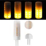 Оригинал ARILUX® G4 2W 1300K SMD2835 36LEDs Теплая белая лампа общего освещения пламени AC / DC12V