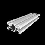 Оригинал 500 мм Длина 2040 Т-образный алюминиевый профиль Экструзионная рама для ЧПУ