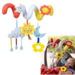 Оригинал Soft Animal Hanging Bed Safety Seat Plush Кукла Мобильный кукольный домик для новобрачных Cute Toy