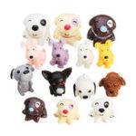 Оригинал 14PCS Собака Puppy Miniature DIY Micro Landscape Растение Игрушки для дома Аксессуары
