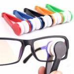 Оригинал Microfiber Mini Sun Очки Eyeglass Clean Щетка Чистящие средства для чистки Инструмент