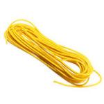 Оригинал 3 лота 5 метров / лот Желтый 300V Супер Гибкий 22AWG Медь ПВХ Изолированный Провод LED Электрический кабель UL Соответствует RoHS