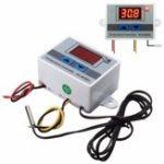 Оригинал 3шт XH-W3001 220В 10A Цифровой Дисплей LED Контроллер температуры с переключателем управления термостатом Зонд