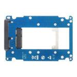 Оригинал JEAI S112s SSD адаптерная плата mSATA для SATA m.2 NGFF to SATA3 Жесткий диск Коробка Регулируемый Пластина