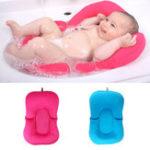 Оригинал Младенческая новорожденная ванна для младенцев Подушка для подушек Lounger Air Cushion Floating Soft Поддержка ванны для сидения