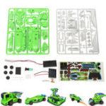 Оригинал 7 В 1 Солнечная Робот DIY Игрушка Авто Набор Для детей Образование