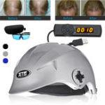 Оригинал 64 Медицинская Диоды Лазер Волосы Устранение потери раствора Каска шлема быстрого восстановления Масло Контроль Очки