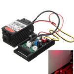 Оригинал Фокусируемый 500mw 808nm Инфракрасный IR Лазер Диодный модуль Dot 12V + TTL + Вентилятор охлаждения