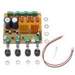 Оригинал Bluetooth 4.0 Digital 2.1 Класс D HIFI Мощность Усилитель Board 3CH Super Bass Усилитель