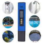 Оригинал Цифровой автоматический тестер для воды TDS Titanium Зонд Аквариум Бассейн Тест качества воды Монитор