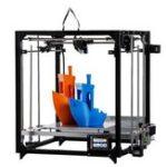 Оригинал Flsun Cube 3D-принтер 260 * 260 * 350 мм Размер печати с автоматическим выравниванием Поддержка сенсорного экрана WIFI Connect Dual Z Motors 1,75 мм 0,4 мм сопло