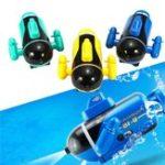 Оригинал Mini Micro Радио Дистанционное Управление RC Sub Лодка Racing Submarine Explorer Toys Gift