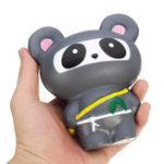 Оригинал Squishy Grey Bear 13cm Soft Медленное восхождение с коллекцией подарков