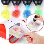 Оригинал Цвет покрытия Ручка Для 3D Волшебный Машинный принтер DIY Рисунок Kids Gift Обучающие игрушки для развития