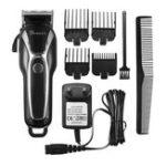 Original SURKER Электрический Волосы Clipper Триммер LED Дисплей Стальной клин Моющийся Перезаряжаемый 110V 240V
