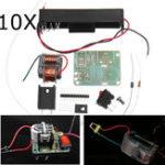 Оригинал 10Pcs Инвертор Boost Высоковольтный генератор 15KV Высокочастотный трансформатор Дуга зажигания катушки зажигания модуль