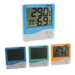 Оригинал ANENG HTC-1 Крытый номер LCD Электронный измеритель влажности температуры Digital Термометр Гигрометр Weather Alarm Часы