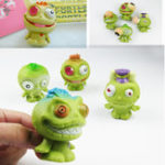 Оригинал 7.5cm Squishy Alien Slime Stress Reliever Fun Gift Toy