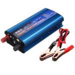 Оригинал Пиковый преобразователь постоянного тока DC 12 / 24V для AC 220V 1600W Модифицированный преобразователь синусоидальной волны USB