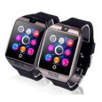 Оригинал Q18СонМониторШагомеркамераSMS SIM TF Card Bluetooth Smart Watch для IOS Android