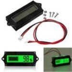 Оригинал GY-6 12V 24V 36V 48V свинцово-кислотная Батарея 2-15S Lithium Батарея Универсальный регулируемый 6-65V Зеленый экран LCD Емкость Дисплей Контроллер Индикат