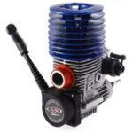 Оригинал SH 21 Задний выхлоп M21-P3 3.48cc 2-Ход Двигатель с выдвижным стартером для HSP Redcat 1: 8 RC Nitro Авто