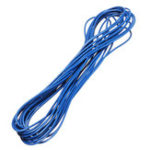 Оригинал 3 Lots 5 метров / Lot Blue 300V Super Flexible 22AWG Медь Изоляция из ПВХ Провод LED Электрический кабель UL Соответствует RoHS