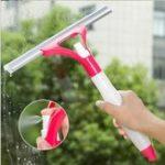 Оригинал Многофункциональный оконный спрей Тип Очистка Щетка Авто Мойка Щеткаer Удобный очиститель для стекла Home Cleaning Инструмент