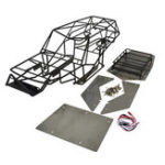Оригинал Xtra Speed Металлическая стальная рамка Корпус для черных для осевого причала RC 1/10 Cars Truck