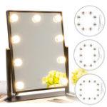 Оригинал 8/10 / 12PCS E27 Таблица зеркал для макияжа Лампа Держатель лампы Разъем Адаптер US Штекер 220V