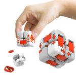 Оригинал XiaomiMituCubeSpinnerFingerBricks Intelligence Finger Toys Портативный для малышей