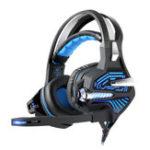Оригинал Kotion Каждый GS100Z 7.1 Surround Gaming Headset Headphone с Светодиодный Микрофон Провод Управление