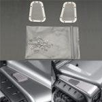 Оригинал 2шт. Металлический вытяжной вентилятор для украшения украшения для Traxxas 1/10 TRX4 RC Авто